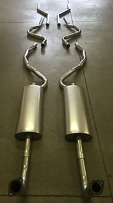 $845 • Buy 1957 Ford Retractable Hardtop Dual Exhaust System, 304 Stainless