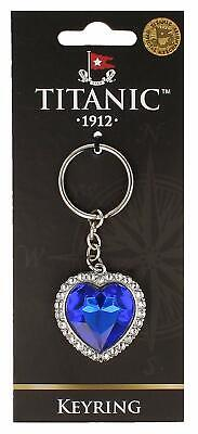 £5.99 • Buy Titanic The Heart Of The Ocean Jewel Vintage Collectors Keyring (sg)