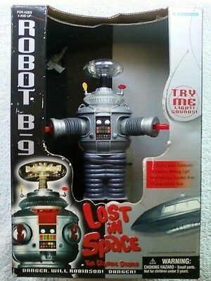 AU169.76 • Buy LOST IN SPACE Robot B-9 Small 7  Collector Edition