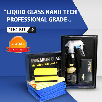 AU51.48 • Buy 9H Liquid Ceramic Car Glass Coating Paint Kit Nano Super Hydrophobic Autocare