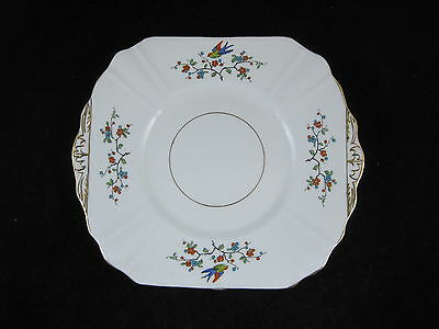 £7.95 • Buy Lovely Thomas Forester Phoenix Ware Art Deco Swallows Cake Plate