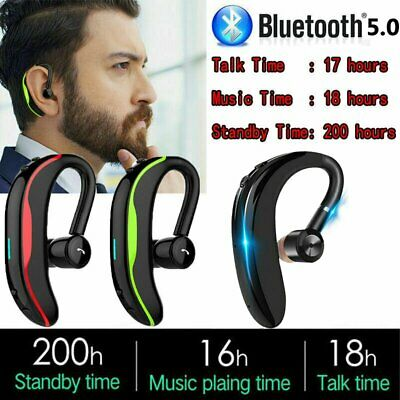 AU17.99 • Buy Wireless Bluetooth Stereo Headset Earphones Headphone For Samsung IPhone Android