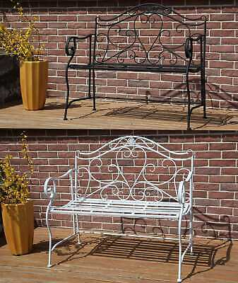 £89.99 • Buy BIRCHTREE Patio Outdoor 2 Seater Garden Bench Metal Iron Ornate Vintage MGB02
