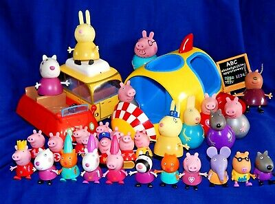 PEPPA PIG ASSORTED FIGURES VEHICLES - Please Select From List:- • 6.45£