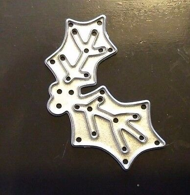 Sizzix Die Cutter  CHRISTMAS HOLLY & BERRIES Thinlits Fits Big Shot Cuttlebug • 3.41£