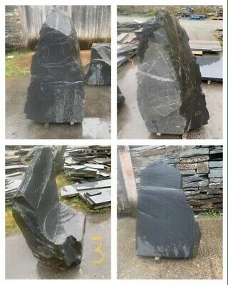 Large Welsh Slate Monolith. Water/Garden Feature • 300£