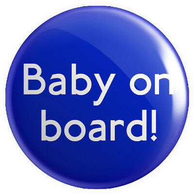 £0.99 • Buy Baby On Board! BUTTON PIN BADGE 25mm 1 INCH Pregnant Pregnancy Mother