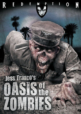 OASIS OF THE ZOMBIES - DVD - Cult Euro Horror - Uncut - Jess Franco • 14.50£