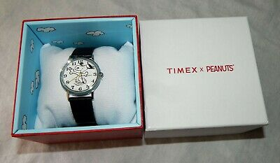 1bc898b073 Timex X Peanuts For Todd Snyder Snoopy 34mm Leather Strap Watch NEW  TW2T39500JR • 98.40€