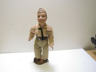 $149.98 • Buy WWII Army Military 15  Composition Doll Praise The Lord And Pass The Ammunition