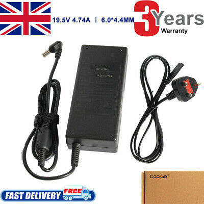 £10.99 • Buy For Sony Vaio Laptop Charger Pcg-71311m Adapter 19.5v + Power Supply Cable
