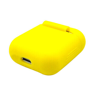 $ CDN7.38 • Buy Silicone Shockproof Case Cover For AirPods Charging Case Yellow