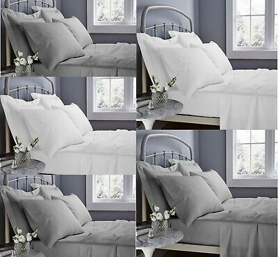 500tc 40cm Extra Deep Fitted Sheet 100% Egyptian Cotton Double Super King Size • 16.99£