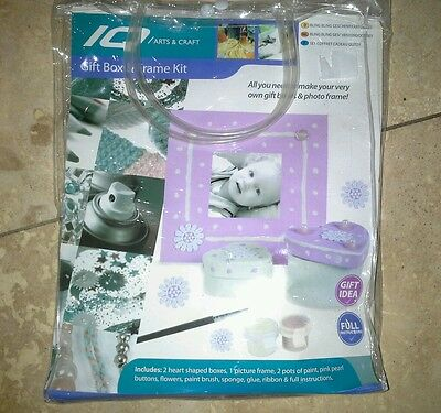 IQ  Arts And Crafts Gift Box And Frame Kit • 3.99£