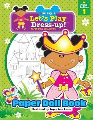 £8.26 • Buy Snissy's Let's Play Dress-Up!(tm) Paper Doll Collection: Paper Doll Book: Make-B