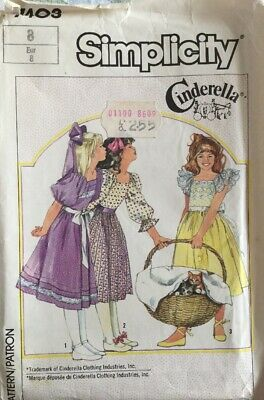 Sewing Pattern, Girls ,Party, Bridesmaid Dress, Age 8. • 6.99£