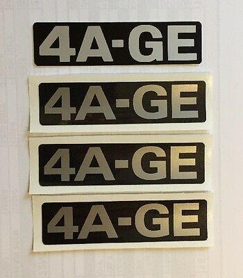 AU10.84 • Buy Toyota 4age Timing Belt Cover Decal Sticker AE86 Twin Cam