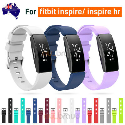 AU6.95 • Buy For Fitbit Inspire/Inspire HR Replacement Soft Silicone Sport Wrist Band Strap