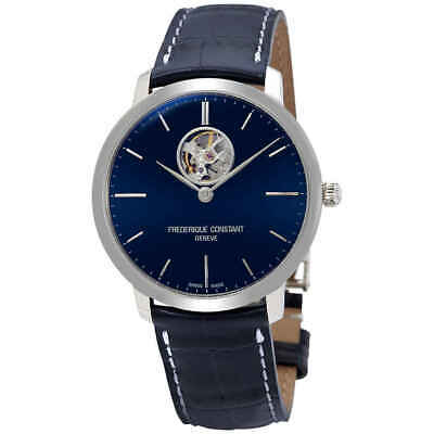 $1044.75 • Buy Frederique Constant Slimline Automatic Blue Dial Men's Watch FC-312N4S6