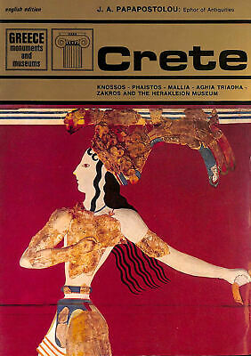 Crete (Greece: Monuments And Museums) By Papapostolou, I. A • 6.99£