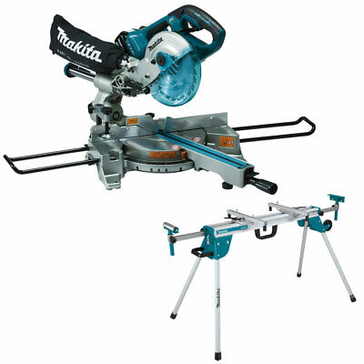 £689 • Buy Makita DLS714NZ Twin 18V/36V LXT Brushless 190mm Compound Mitre Saw + Leg Stand