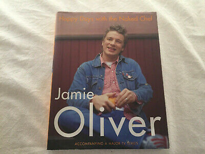 AU19.95 • Buy Jamie Oliver - Happy Days With The Naked Chef Hardcover TV Series Cooking