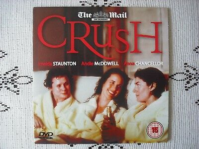 MAIL PROMO DVD FILM -CRUSH - 40`s SOMETHING WOMENS  DRAMA (0.99p UK POST FREE) • 0.99£