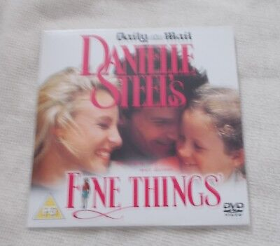 DVD - Danielle Steel Film - Fine Things - Newspaper Promo Disc • 1.50£