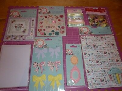 £6.99 • Buy Papermania 'bellisima' Goody Bag - New - Ribbon-buttons-papers-bows-frames