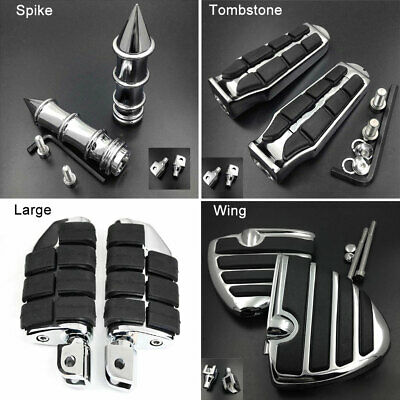$49.99 • Buy Wing Front Foot Pegs Rest For 2009-2015 12 13 Suzuki Boulevard M109R M90 M50 C50