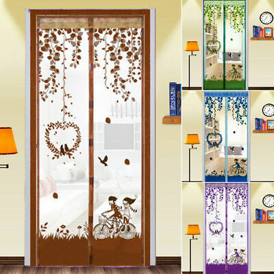 £7.45 • Buy Magic Door Curtain Mesh Magnetic Fastening Hands Free Insect Fly Screen UK Stock