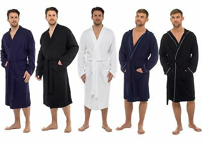 $37.83 • Buy Mens Undercover Soft Cotton Lightweight Dressing Gown Bath Robe Waffle Or Jersey