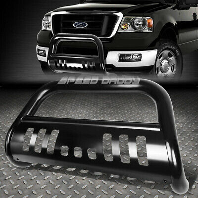 $96.78 • Buy For 04-16 Ford F150 Non-ecoboost/03+expedition Black Bull Bar Push Bumper Guard
