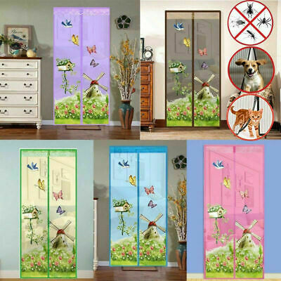 £7.99 • Buy New Magic Door Screen Magnetic Mesh Net Anti Mosquito Insect Fly Bug Curtain UK