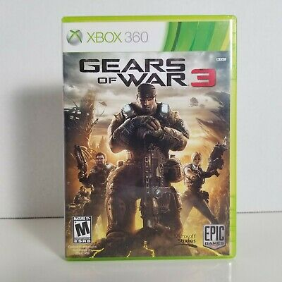 $6.43 • Buy Gears Of War 3 (Xbox 360) Tested, Complete, CIB - FREE SHIPPING!