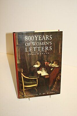 $13.12 • Buy 800 Years Of Women's Letters Hardback Book The Fast Free Shipping