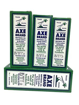 $27 • Buy Axe Brand Universal Medicated Oil Medicated Cold Headache Analgesic Balm Pain