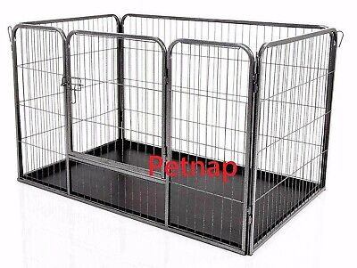 Petnap Puppy Dog Pet Play Pen Enclosure, Heavy Duty,Playpens,Whelping Box,Crate • 48.99£