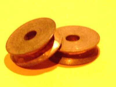 £1.20 • Buy Two Meccano Brass Pulleys  Without Boss, Part 23b