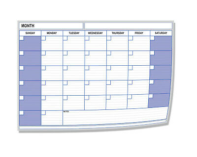 A4 Monthly Month Planner - Desk Chart Diary - Any Month & Year Choose Pack Size • 2.99£