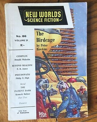 New Worlds Science Fiction No. 86, August/September Oct 1959 • 7.50£