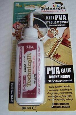 £5.18 • Buy Clear Pva Adhesive Glue For Paper Cardboard Books Water Resistant 80ML