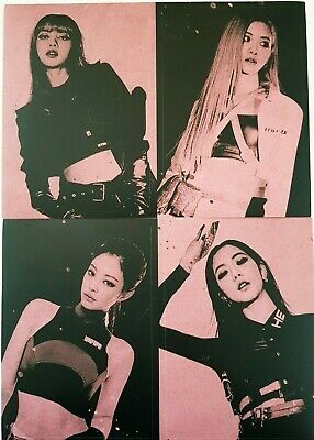 $ CDN8.46 • Buy BLACKPINK All Member Sticker SET - Official 2nd Mini Album  KILL THIS LOVE