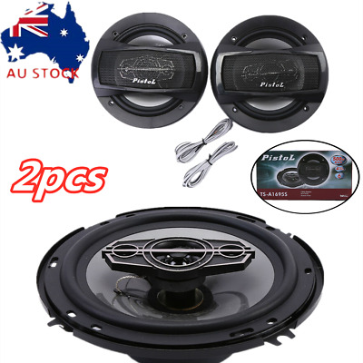 AU32.63 • Buy 6  350W 4 Way Car Audio Subwoofer Coaxial Rear Stereo Speakers Set Of 2