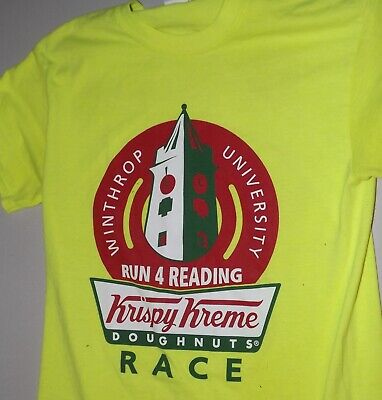 $49.99 • Buy Krispy Kreme Doughnuts Winthrop University Rock Hill, South Carolina Size S