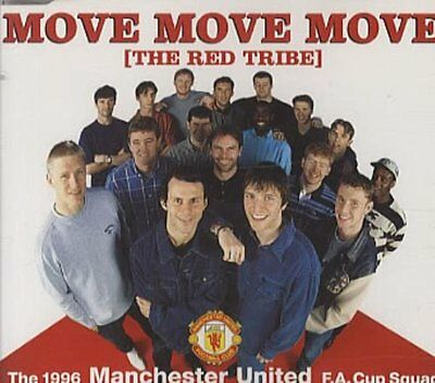 Manchester United 1996 FA Cup Squad - Move Move Move The Red Tribe - Football CD • 2.99£