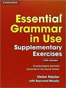 £14.58 • Buy Essential Grammar In Use Supplementary Exercises : To Accompany Essential Gra...