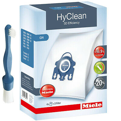 4 X MIELE Hoover Dust Bags Hyclean GN 3D Vacuum Cleaner S8000 S8 S8310 S8320 • 14.29£