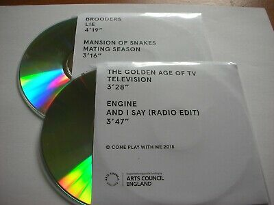 Come Play With Me - Brooders/Mansion Of Snakes/ Engine/The Golden Age - 2 X  • 3.99£