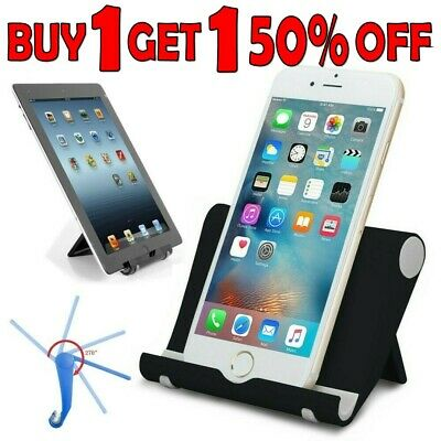 $6.55 • Buy Foldable Cell Phone Desk Stand Holder Mount Cradle For IPhone 11 Pro X 8 Samsung